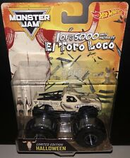 2017 Hot Wheels Monster Jam Halloween El Toro Loco  Limited Edition 1 of 5000 LE