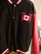 Canadian Team Hockey Jacket - Snap up - Large