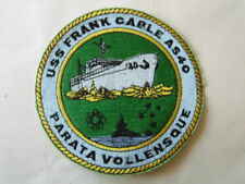 PATCH US NAVY USS FRANCK CABLE AS-40 / MARINE USA