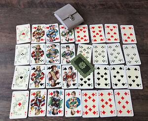 Alte Spielkarten Altenburg 32 Blatt in Guten Zustand Spielkarten im Etui