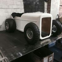 tot rod hot rod ride on radio flyer pedal car rat rod  roadster shell