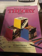 WP206 - Bastien Piano Basics - Theory Level 1