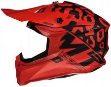 MT Falcon Karson Motorcross Offroad Motorcycle Motorbike Helmet - Matt Red