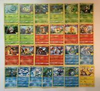 McDonalds Pokemon 25 Jahre Jubiläum Non Holo Alle 25 Karten Komplett Set Deutsch