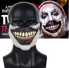 Scary Joker Cosplay Mask Clown Mouth Horror Story Freak Show Latex Masks Props
