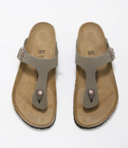Birkenstock Gizeh BS Stone Unisex Slide Sandals 43391 Free FedEx Shipping