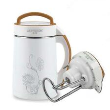 New Gold 1.8L Stainless Steel Inox Soybean Soy Milk Maker Juicer Blender Mixer