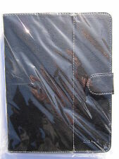 Nero Multi Angle PU Pelle Custodia Supporto Per Onda Vi40 Elite Tablet PC