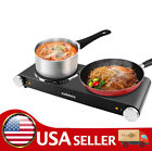Cusimax 1800W Portable Electric Stove, Infrared Double Burner Heat-up In Seconds photo
