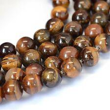 Tigerauge Perlen 8mm * A Qualität * Kugel Strang Edelstein Natursteine BEST G57