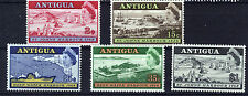 ANTIGUA 1968 HARBOUR PLATE BLOCKS OF 4 MNH