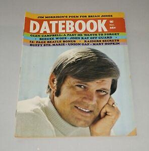 NOVEMBER 1969 DATEBOOK MAGAZINE - GLEN CAMPBELL ON COVER NICE!