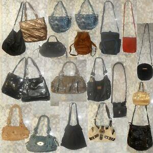 Lot of 20 Handbags/Clutches/Coach bags+1 Big Laptop Messenger