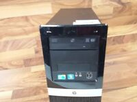 PC Desktop Pronto Uso HP DX2400 CPU Intel Quad Core Q6600 DDR2 2GB HD 320Gb WIN7