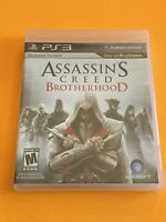 Assassin's Creed Brotherhood (Playstation 3) PS3 Black Label Ubisoft - Brand New