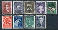 AUSTRIA 1950 MNH COMPLETE YEAR (NO AIRMAIL) Lot 9 Stamps