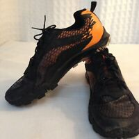 Merrell Unisex Size 5 Tough Mudder Orange Black Shoes Sneakers Hiking Shoes
