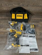Dewalt Drill Dcd780 Impact Driver Dcf885 20V Max Combo 1 Battery,Charger and bag
