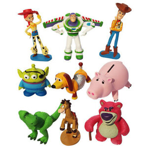 9PCS TOY STORY ACTION FIGURES DOLL KIDS BOY PLAY SET FIGURINES CAKE TOPPER DECOR
