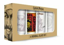 Captain Morgan Highball Glass Set of 4 16 oz