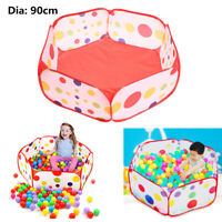 90CM Kid Toy Ocean Ball Pit Pool Indoor Outdoor Home Baby Game Play Tent Gifts