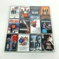 Lot 12 Cassette Tapes Rap Hip Hop Movie Soundtracks Eddie Murphy Will Smith *NEW
