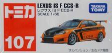 Tomica 107 Lexus Is F Ccs-r 1 66