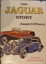 JAGUAR STORY, JOSEPH WHERRY, NEW 1967 CHILTON HARDBOUND BOOK  / Best Offer?