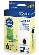 Original Brother LC229XLBK Extra Large Capacity Black Ink Cartridge LC-229XL BK