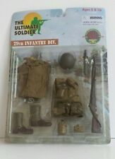 "ULTIMATE SOLDIER 29TH INFANTRY DIV. WWII SERIES 1:6  FIT ALL 12"" ACTION FIGURES."