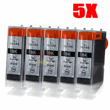 5x Ink Cartridges PGI 5bk Blak Only for Canon PIXMA iP4500 iP5200 MP610 MP830 OZ