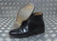 Genuine British Military Issue Officers George Boots Black Leather Ceremonial