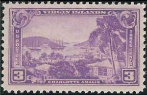 Scott # 802 Virgin Islands Unused Single Stamp MNH OG
