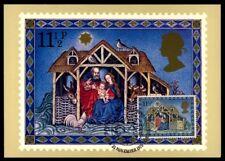GB UK MK 1979 WEIHNACHTEN CHRISTMAS NOËL NAVIDAD NATALE MAXIMUMKARTE MC CM m937