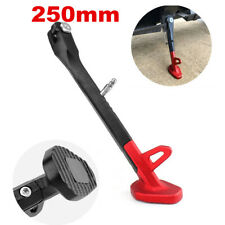 250MM CNC Motorcycle Non-slip Kickstand Side Stand Leg Prop Universal Durable