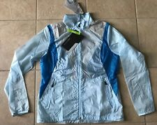NIKE GOLF Womens VAPOR Jacket--Pale Blue-Medium-NWT