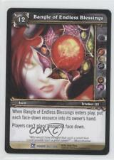 2009 World Warcraft TCG: Fields Honor #165 Bangle of Endless Blessings Card 1i3