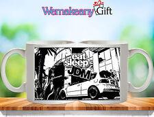 Honda Civic EG Type R Eat Sleep JDM Jap Stance Low - Tea Coffee Mug Gift Present