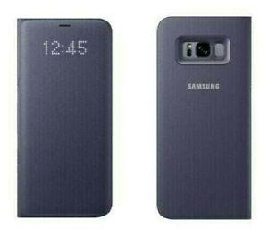 Original Samsung LED View Cover für Galaxy S8, violett (EF-NG950)