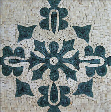 Mural Art Decor Stone Tiles Marble Mosaic IN617