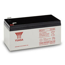 NP2.8 12 volt 2.8 ah GENUINE YUASA RECHARGEABLE ALARM/ SECURITY BATTERY