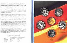 Sammelmappe Münzen In Euro Währung Brd Kursmünzen Günstig Kaufen Ebay