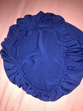 Royal Blue Removable Elastic Stretch Slip Cover Dining Office Seat Chair Cover