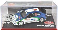 Model car 1/43 Rallye Monte Carlo 2005 Citroen Xsara WRC Stohl & Minor Altaya