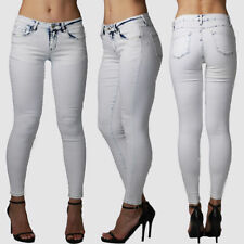 Cotton Mid Rise Petite Jeans for Women