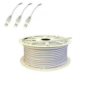 1~50m DIY LED Strip Neon Rope Lights SMD2835 Flexible Waterproof Lighting DC24V
