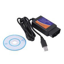 USB Cable OBD2 ELM327 Car Diagnostics Scanner Software Support 64 bit system SL