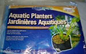 "Aquascape Aquatic Planters, 2 pack 12""x8"""