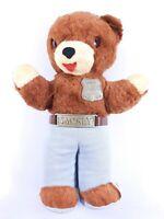 "Vintage 1960's IDEAL Smokey the Bear Ranger Stuffed Plush Animal Toy Doll 13"""
