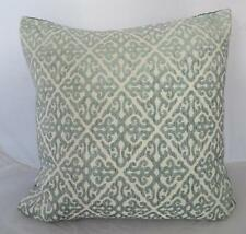 STUNNING Classic Scrolls Teal Cushion Cover Home Decor Pillow Case Throw 45cm